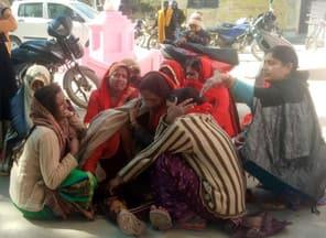 फतेहपुर में गैस टैंकर ने दो युवकों को रौंदा