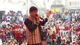 देश भक्ति गीत से बच्चों में भरा जोश