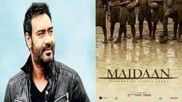 Maidaan Teaser poster: अजय देवगन की 'मैदान' का नया पोस्टर रिलीज
