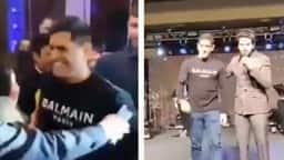 धोनी को स्टेज पर बुलाया तो ऐसे शरमा कर पीछे भागे, देखें मजेदार VIDEO