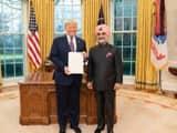 taranjit singh sandhu present his credentials as ambassador of india to donald trump