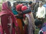 trolley overturned by bus collision in bareilly painful death of two women