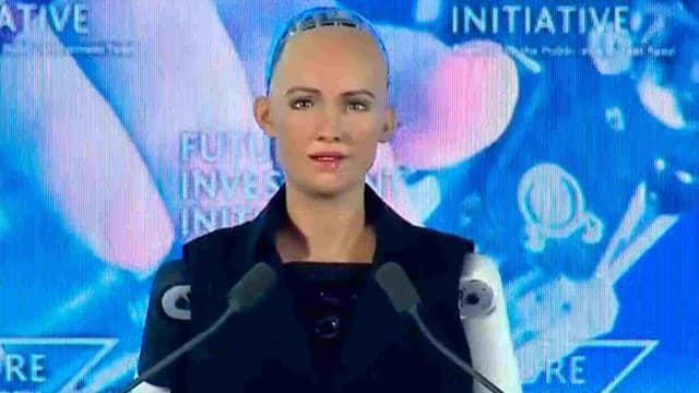 Image result for ह्यूमनाइड रोबोट सोफिया