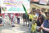 अम्बेडकरनगर, निकाली रैली, की नगर को पालीथिन से मुक्त कराने की अपील