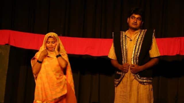 bhikharinama play in nsd   hindustan 14 feb  2020