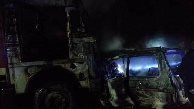 unnao expressway accident 2