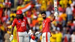 kings xi punjab cricketer kl rahul and chris gayle  afp
