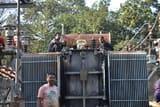 हीरापुर सब स्टेशन में ट्रांसफॉर्मर लीक, छह घंटे गुल रही बिजली