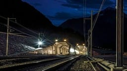 switzerland longest rail tunnel
