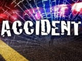road accident in hardoi in up two people including a student died