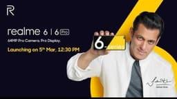 Realme 6 और 6 Pro भारत में 5 मार्च को होंगे लॉन्च, जानें खूबियां