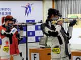 issf world cup croatia  pejcic snjezana india panwar divyansg singh   issf website