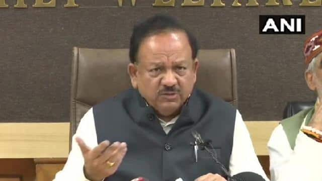 union health minister dr harsh vardhan   ani twitter 2 march  2020