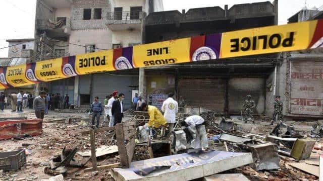 दिल्ली दंगा : अदालत ने दो लोगों पर धार्मिक स्थल पर आगजनी और तोड़फोड़ के आरोप तय किए