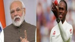 pm modi and jofra archer