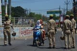 छावनी बना शहर, आईजी ने की समीक्षा