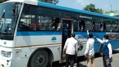 Government And Private Bus Services Resume In Unlock After Lockdown Due To Corona Virus Pandemic In Uttarakhand Unlock À¤ªà¤¹ À¤¡ À¤• À¤•à¤ˆ À¤° À¤Ÿ À¤• À¤² À¤ À¤¬à¤¸ À¤¸ À¤µ À¤¶ À¤° À¤¯ À¤¸ À¤µ À¤ À¤…ब À¤ À¤¹