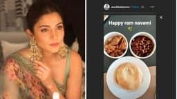 anushka sharma celebrated ram navami and share ashtami prasad on social media