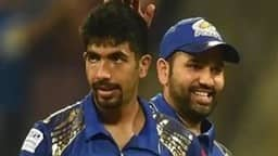 file image of jasprit bumrah  rohit sharma twitter