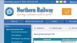 north railway recruitment 2020 moradabad division
