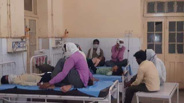 अस्पताल फिर फुल, सामान्य मरीजों को 10 बेड