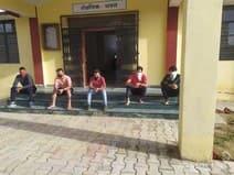देवीधुरा में गुरुग्राम से आये सात लोगों को महाविद्यालय में किया क्वारन्टाइन