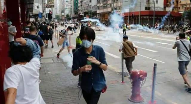 protests intensify in hong kong over new security law