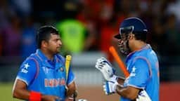 suresh raina and ms dhoni  twitter