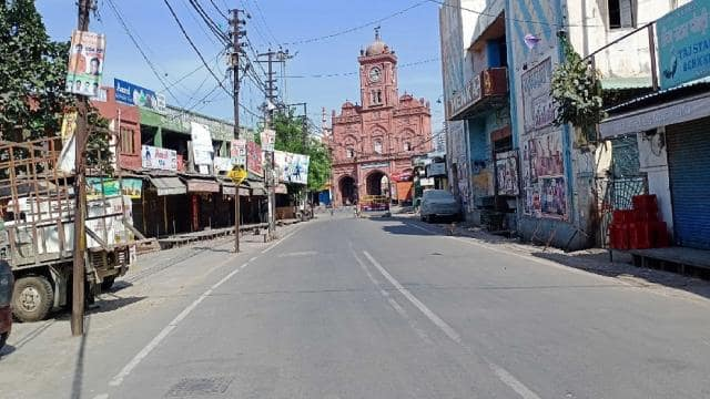full lockdown continue in meerut