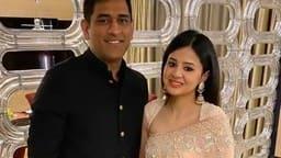 ms dhoni with wife sakshi dhoni  instagram sakshi   dhoni