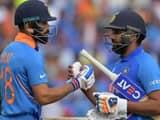 virat kohli and rohit sharma batting together   getty images