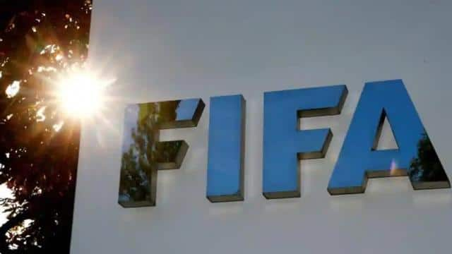 the logo of fifa is seen in front of its headquarters in zurich  switzerland  reuters
