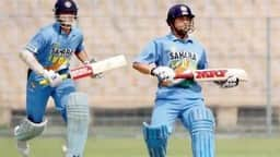 file image of sachin tendulkar and sourav ganguly  afp getty images