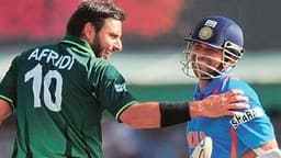 shahid afridi and sachin tendulkar  file photo