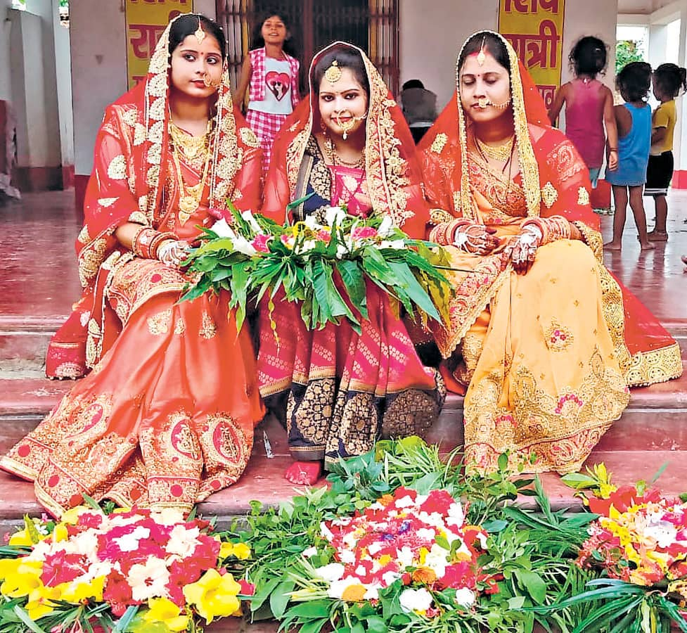 Madhushravani the traditional festival of Mithilanchal begins - मिथिलांचल  का पारंपरिक पर्व मधुश्रावणी शुरू