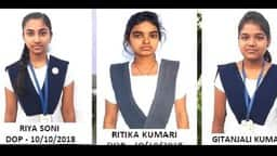 cbse 12th result jnv latehar jharkhand toppers riya and ritika