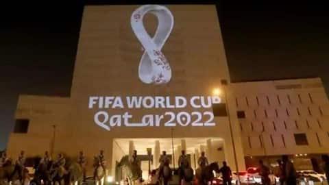 آرم رسمی مسابقات جام جهانی قطر در سال 2022