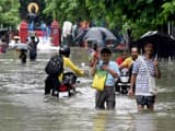 water logging in bihar after heavy rainfall