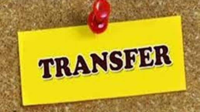 transfer of 18 pcs officers of sdm level in up