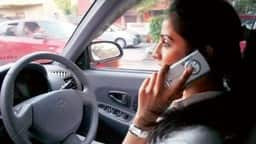 talking on phone while driving