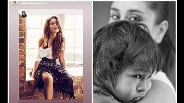 करीना कपूर खान ने शेयर की फोटोशूट की तस्वीर, याद कर बोलीं- जब तैमूर मेरे पेट में था