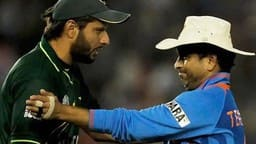 file photo of shahid afridi with sachin tendulkar