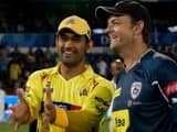 ms dhoni and adam gilchrist  getty images