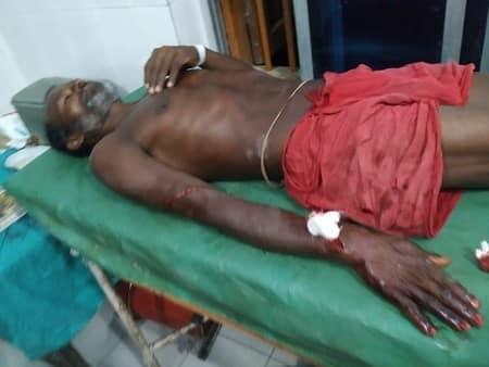 बंगाली टोला गांव में आपसी विवाद को लेकर दो गुटों में टकराव से दहशत