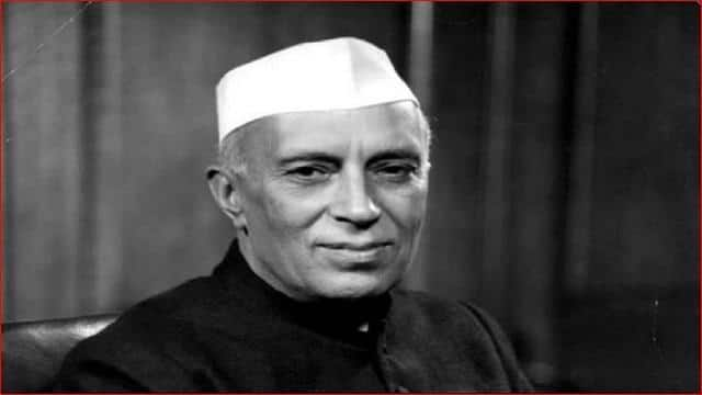 first prime minister of india jawahar lal nehru  file pic