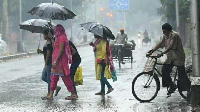 many areas of delhi can get rains today