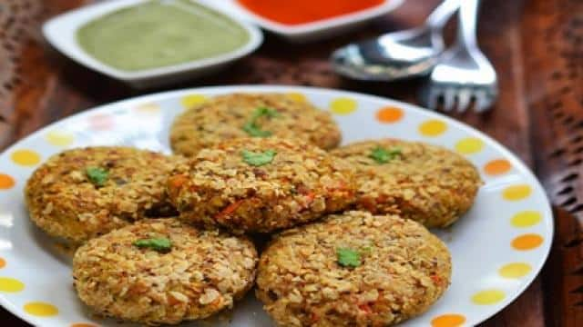 sprouted moong dal kebab recipe