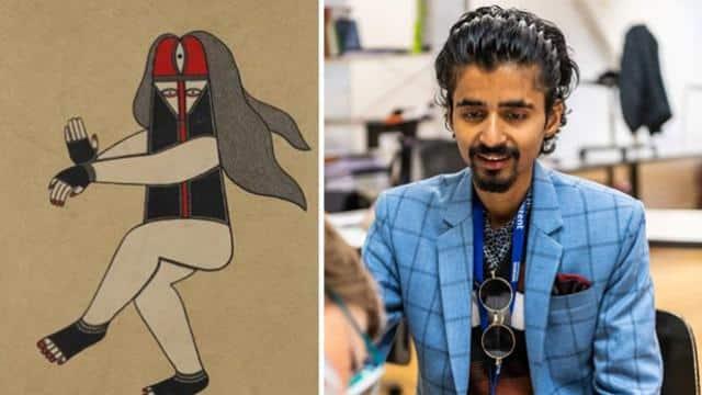 मधुबनी के अविनाश की पेंटिंग 'नटराज' चर्चा में, 2.48 लाख की लगी बोली