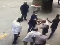 मुंबई में रिटायर्ड नेवी अफसर की पिटाई का VIDEO आया सामने, 6 गिरफ्तार