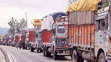 Image result for truck strike by farmers